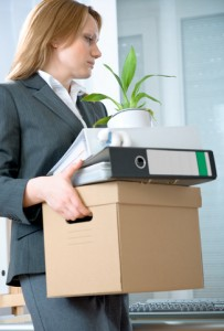 Employee leaving a company