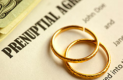 Prenuptial Agreement and Rings