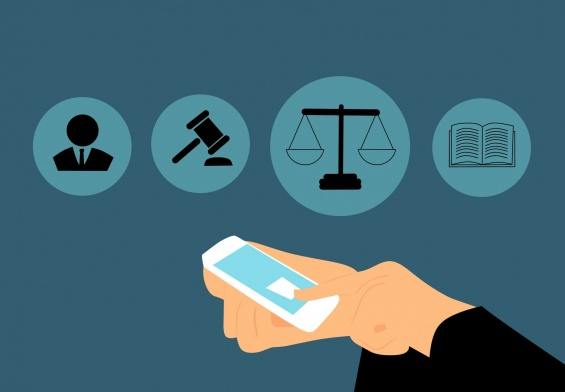 mobile phone and law
