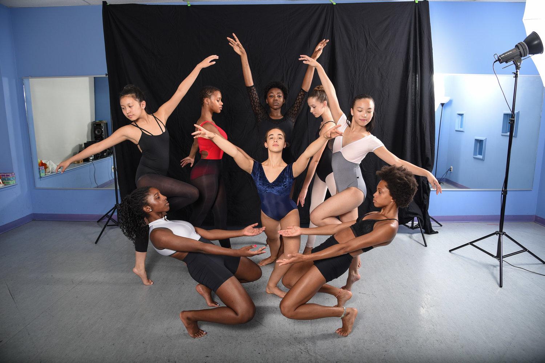 performing arts academy dancers