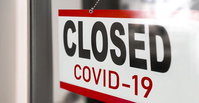 closed business for Covid-19